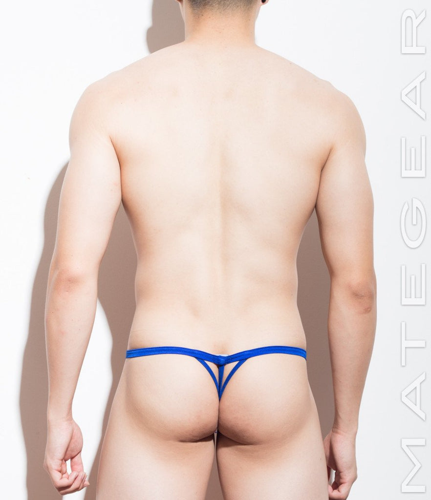 MATEGEAR - Sexy Men's Swimwear, Underwear, Sportswear and Loungewear - Xpression Mini G - Chong Yol (Slit Front / Trident-Back)