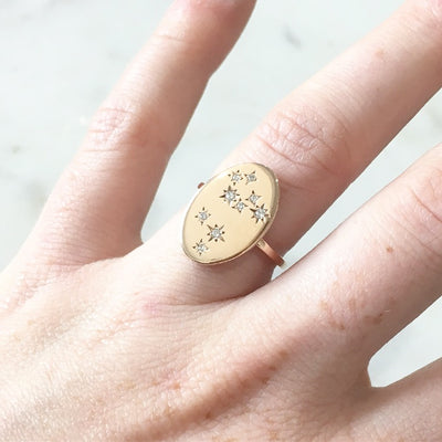 ZODIAC CONSTELLATION / RING