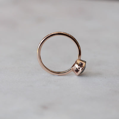 SALT & PEPPER / BEZEL RING