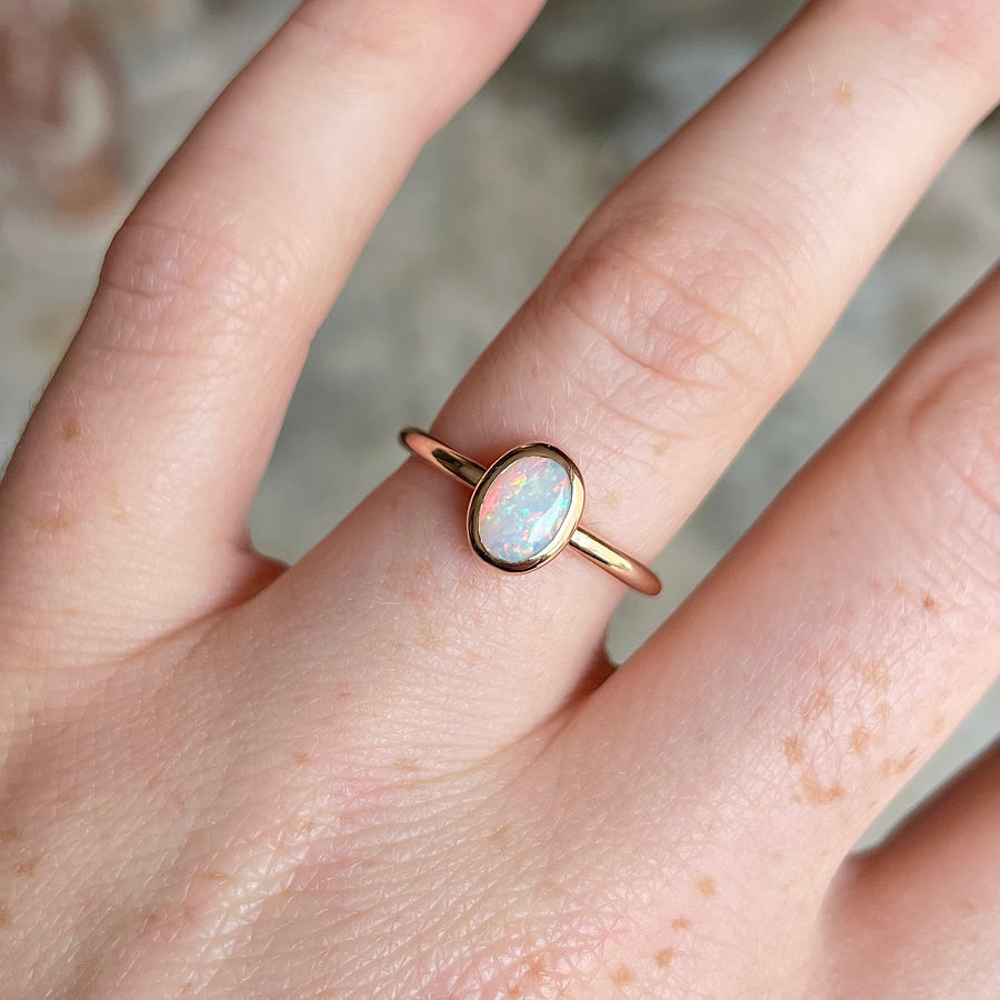 OPAL / BEZEL RING ONE