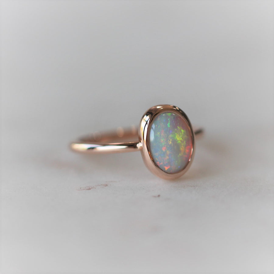 OPAL RING / BEZEL SETTING
