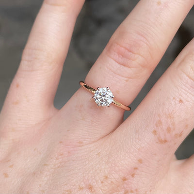 ROUND DIAMOND / SOLITAIRE RING