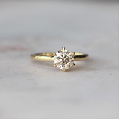 ARGYLE / SOLITAIRE RING