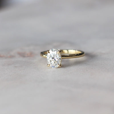 EVIE MOISSANITE / SOLITAIRE RING
