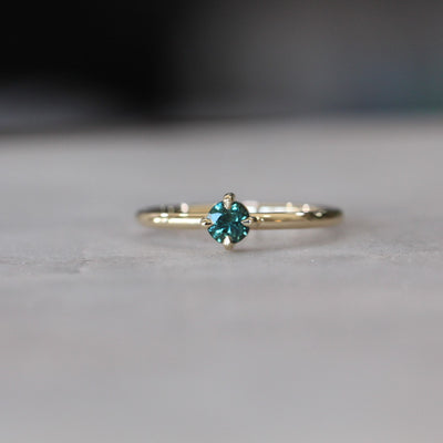 COMPASS PARTI SAPPHIRE RING