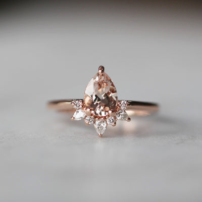 PINK MORGANITE / MELISSA RING