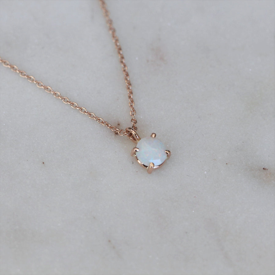 OPAL NECKLACE / ROSE CUT