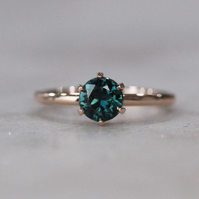 BLUE PARTI SAPPHIRE RING