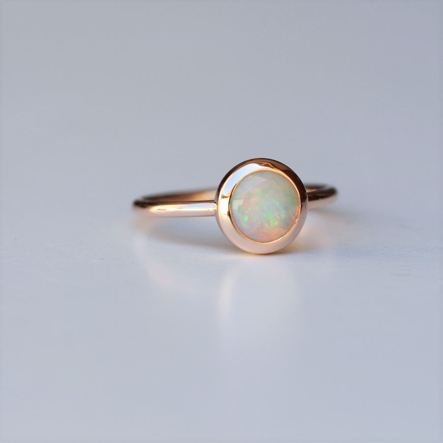OPAL / BEZEL RING TWO