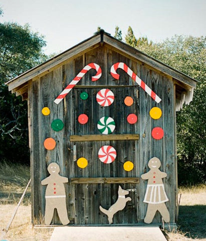 Candy garden shed