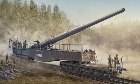 X0015 1/72 German 280mm K5(E) Railway Gun Leopold
