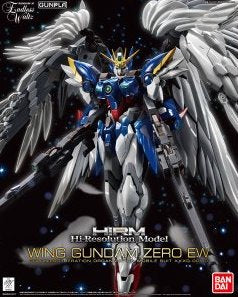 1/100 HiRM High Resolution Model Wing Gundam Zero EW