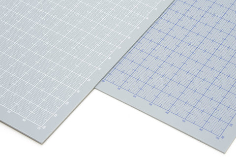 X2148 Pla Plate Gray with White Grid B5 0.5mm
