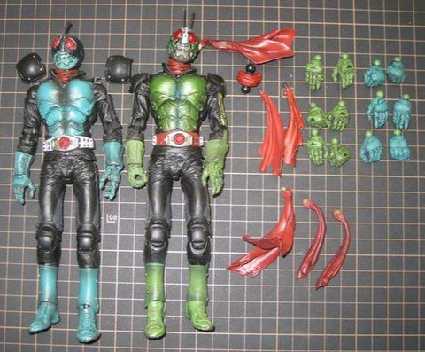 Pre Owned Lot 1973 - SIC Kamen Rider Ichigo and Nigo The First damaged