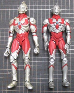 Pre Owned Lot 1982 - SRC Super Reborn Chogokin Ultraman Type A and Type B
