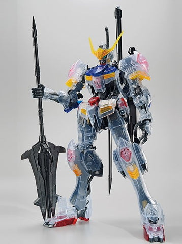 X6823 1/100 MG The Gundam Base Limited Gundam Barbatos Clear Colour