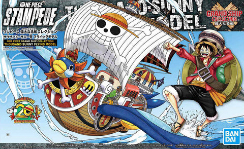 X4593 One Piece Grand Ship Collection Thousand Sunny Flying Model