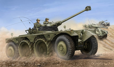 X0131 1/35 French EBR-11 Wheeled Reconnaissance Vehicle