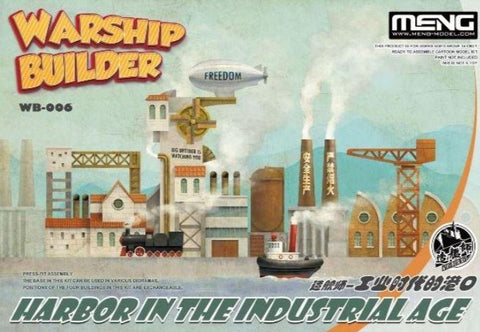 X4618 World War Toons Warship Builder Harbour In The Industrial Age