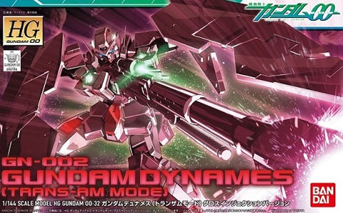 X0250 1/144 HG Gundam Dynames Trans Am Mode