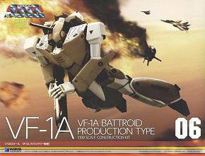 X0384 1/100 Macross #06 VF-1A Battroid Production Type