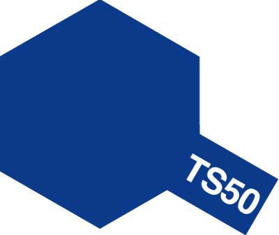 X3545 Tamiya TS-50 Mica Blue 100ml Paint Spray