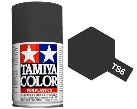 X2163 Tamiya Spray TS6 Matt Black