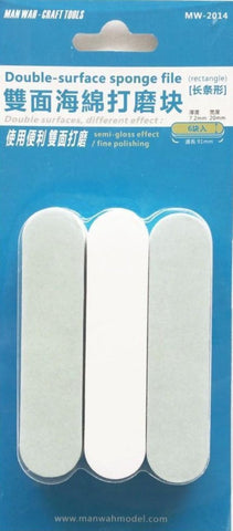 X4644 Double Surface Sanding Sponge 6pc Pack