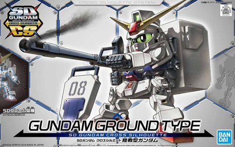 X2440 SD Gundam Cross Silhouette Gundam Ground Type