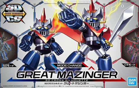 X1789 SD Cross Silhouette Great Mazinger