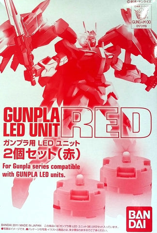 X1184 P Bandai Red LED Set of 2