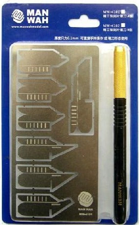 X4900 PE Saw Scribing Set with BLUE Handle