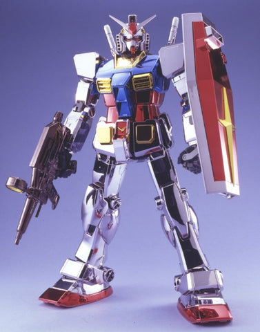 X4418 Limited 1/60 PG RX-78-2 Gundam Chrome Plated Version