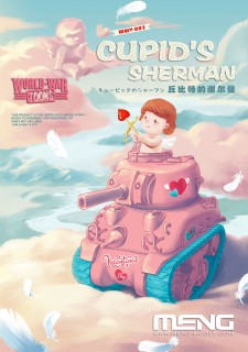 X4989 World War Toons Cupid's Sherman