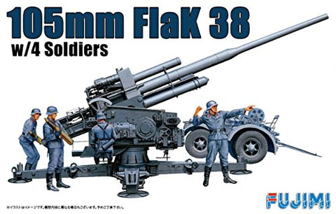 X1540 1/76 105mm Flak 38 with 4 Soldiers