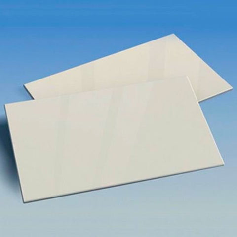 X0117 Pla Plate 0.3mm and 1.0mm WHITE 200mm x 250mm