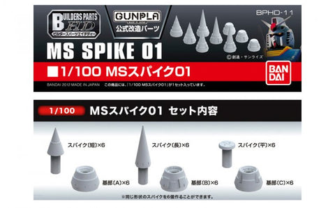 X2140 1/100 Builders Parts HD MS Spike