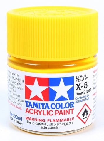X3185 Tamiya Acrylic X-8 Lemon Yellow