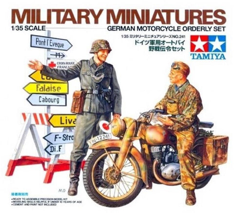 X0059 1/35 German Motorcycle Orderly