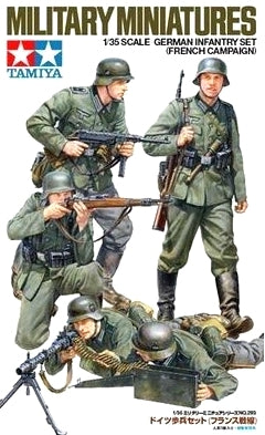 X0068 1/35 German Infantry French Campaign