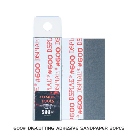 X4460 DSPIAE WSP-600 Adhesive Sanding Paper 600 30pcs