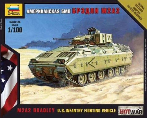 X0090 1/100 US Infantry Fighting Vehicle M2A2 Bradley