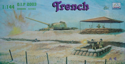 X0009 1/144 Trench Diorama Kit