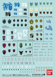 1/100 1/144 Gundam Decal Set #104 Iron Blooded Orphans Multiuse