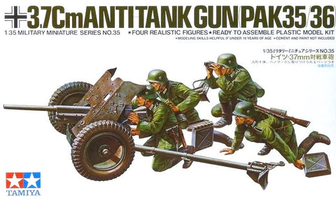 X0026 1/35 German 37mm Anti Tank
