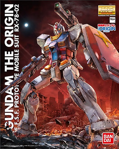 X0397 1/100 MG Gundam The Origin RX-78-02