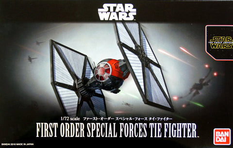 X0674 1/72 Star Wars First Order Special Forces Tie Fighter