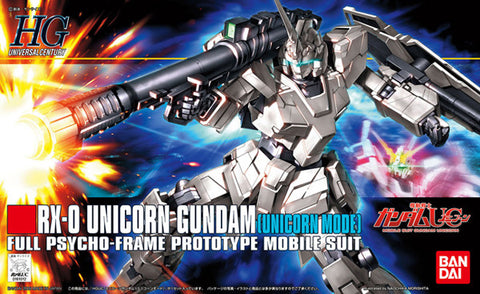 1/144 HGUC #101 Unicorn Gundam Unicorn Mode
