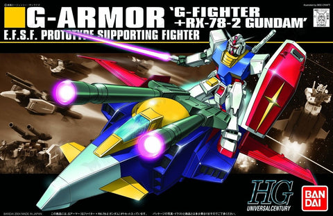 1/144 HGUC G Armor G-Fighter + RX-78-2 Gundam