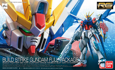 X0200 1/144 RG #23 Build Strike Gundam Full Package